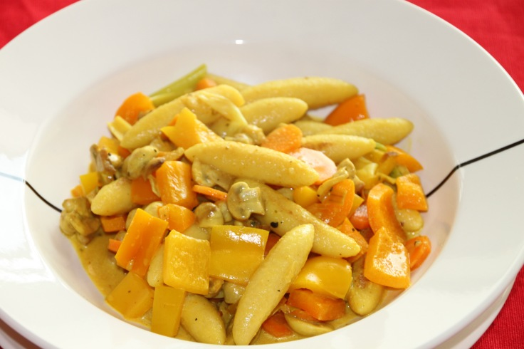 Schupfnudel - finger pasta
